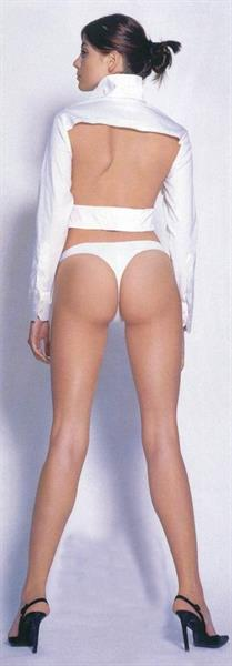 Lejla Majoli in lingerie - ass