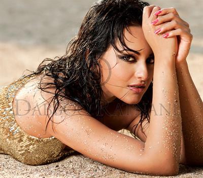 Sonakshi Sinha in a bikini