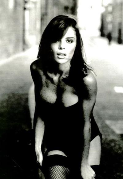 Mylla Christie in lingerie