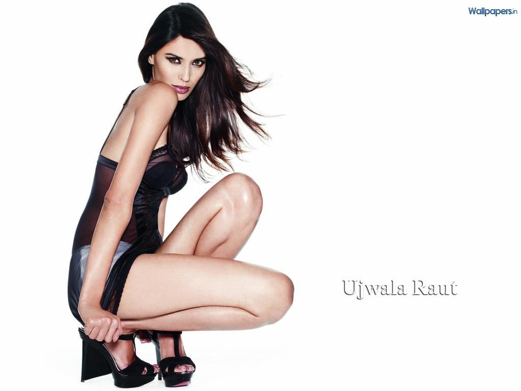 Ujjwala Raut in lingerie
