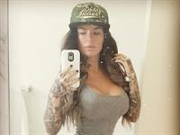 Christy Mack taking a selfie