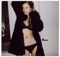Abbey Lee Kershaw in lingerie