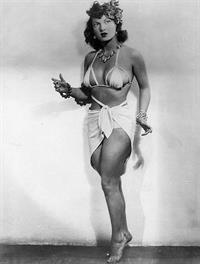 Ann Corio in a bikini