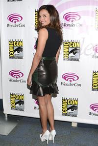 Jessica Lucas WonderCon Anaheim 2013 Day 2 -- Mar. 30, 2013