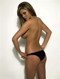 Keeley Hazell in lingerie - ass